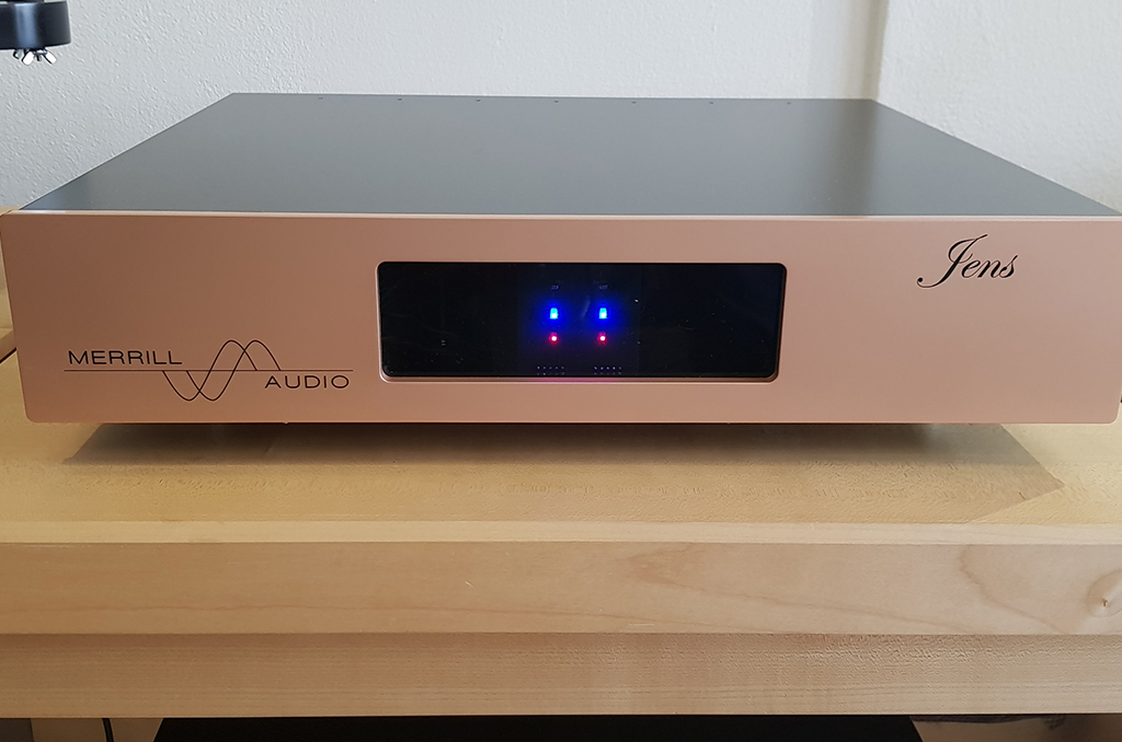 JENS Phonostage Preamplifier Merill Audio Advanced Technology Labs